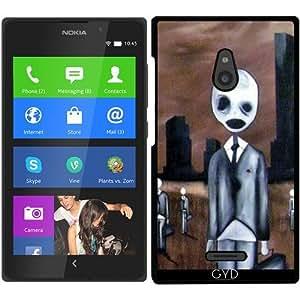 Funda para Nokia XL - Gente Espeluznante by hera56