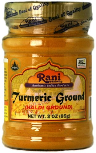 Rani Turmeric Root Powder Spice (Haldi) 3oz - Ground Turmeric