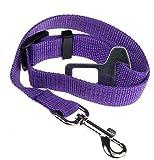 Pet Dog Car Safety Seat Belt Adjustable Puppy Harness Vehicle Seatbelt Dog Restraint Lead Leash Collar Travel Protection