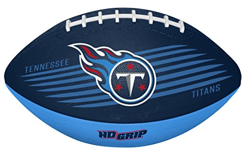 Rawlings NFL Tennessee Titans 07731069111NFL Downfield Football (All Team Options), Blue, Youth