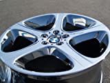bmw rims x5 - BMW X5 4.6iS Style 87: Set of 4 genuine factory 20inch chrome wheels