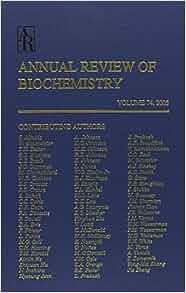 Annual review of biochemistry; v.78, 200