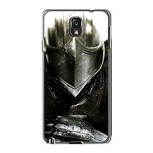 CharlesPoirier Samsung Galaxy Note 3 Shock Absorption Cell-phone Hard Covers Custom High Resolution Dark Souls Elite Knight Pattern [VBk18000aSPU]