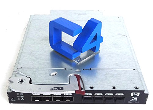 HP AJ822A B-Series 8/24c SAN Switch - 24 Ports - 8Gbps - AJ822B, 489886-002, 489866-001 by HP (Image #1)