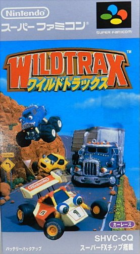 Wild Trax (Japanese Language Version) Import Super Famicom