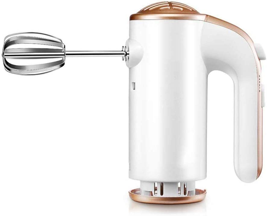 IhDFR 200W Hand Mixer | Professional Food & Cake Mixer for Baking | 5 Speed with Turbo Function, Includes Extra Long Beaters and Dough Hooks