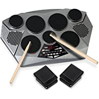 Pyle PTED06 Electronic Drum Set Pad w/Kit