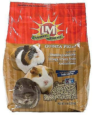 LM Animal Farms Guinea Pig Diet - 5 lbs.
