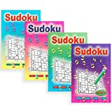 WF Graham Pocket Sudoku Books (Pack of 12) (One Size) (Multicolour)
