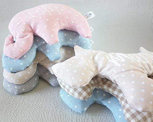 Saquito térmico de semillas para bebé y personalizado. El saco térmico es ideal para aliviar los cólicos, calentar la cuna y relajar al recién ...