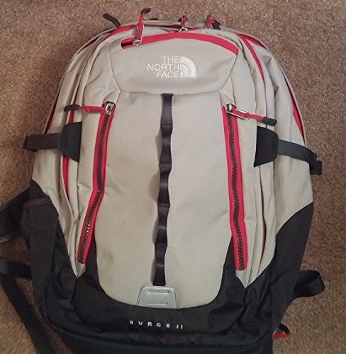 (The North Face Surge II Charged Daypack - Monument Grey)