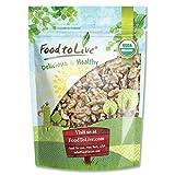 Food To Live  Organic Walnuts (Raw, No Shell, Kosher) (2.5 Pounds)