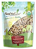 Food to Live Organic Walnuts (Raw, No Shell) (1 Pound)