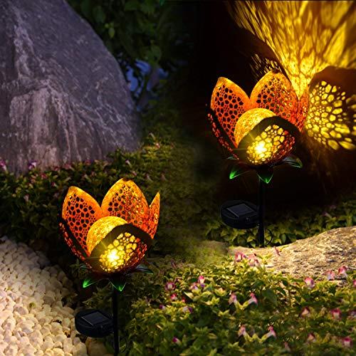 Flower Landscape Lights in US - 5