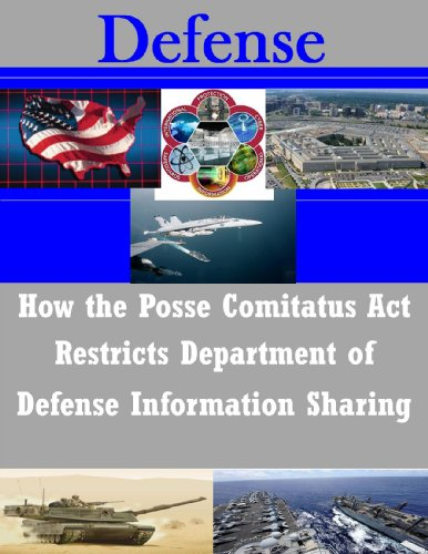 How the Posse Comitatus Act Restricts Department of Defense Information Sharing