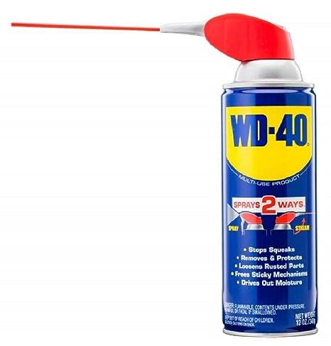 WD-40 Multi-Use Product with SMART STRAW SPRAYS 2 WAYS, 12 OZ: Amazon.com: Industrial & Scientific