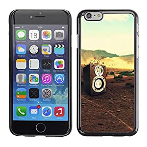 Plastic Shell Protective Case Cover || Apple iPhone 6 Plus 5.5 || Music Shield Black Band @XPTECH