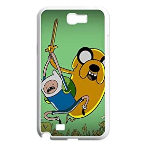 Adventure Time With Finn And Jake Samsung Galaxy N2 7100 Cell Phone Case White toy pxf005_5009691