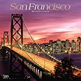 San Francisco 2019 12 x 12 Inch Monthly Square Wall Calendar with Foil Stamped Cover, USA United States of America California Pacific West Coast City