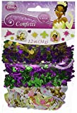 Amscan Dazzling Disney Tiana Confetti Birthday Decoration Party Supplies , Multicolor, 12 Pieces