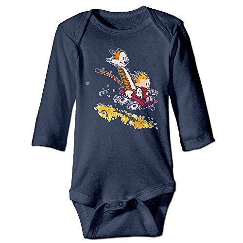 Calvin And Hobbes Slope Cute Baby, Kid Long