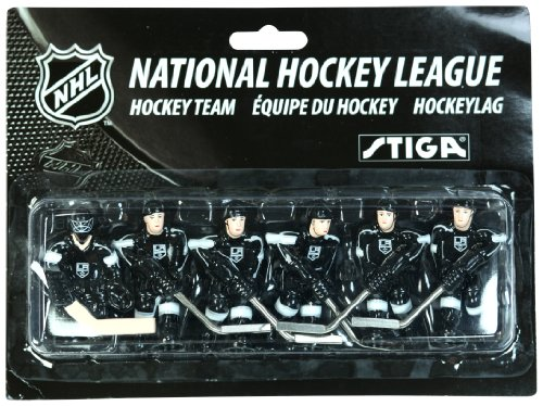 NHL Los Angeles Kings Table Top Hockey Game Players Team Pack