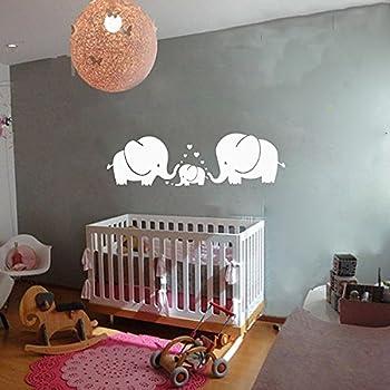 Amazoncom Elephant Bubbles Nursery Wall Decal Room Decor White - Elephant wall decalsamazoncom elephant bubbles wall decal nursery decor baby