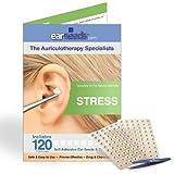 Stress Ear Seed Kit- 120 Ear Seeds, Stainless Steel Tweezer