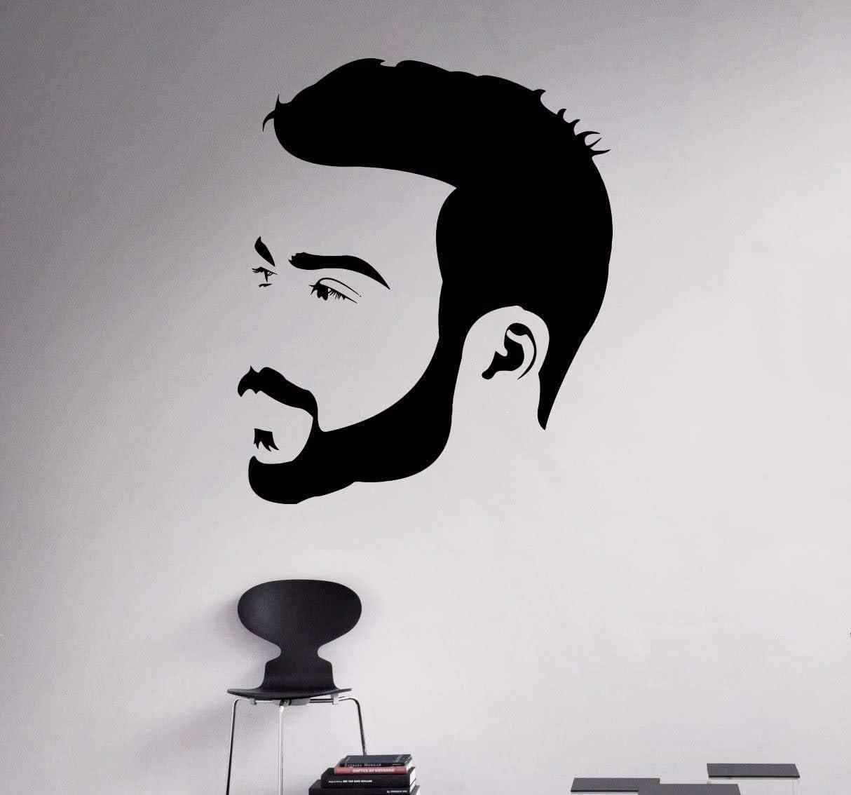 Wall Decal Barber Shop Beauty Salon Style Fashion Beauty Words Sticker ed1795