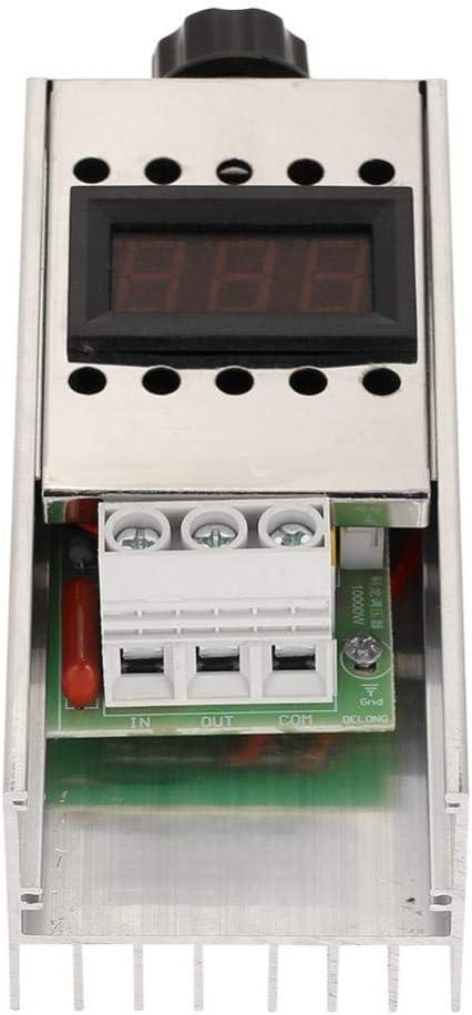 AC 220V 10000W SCR Regulador de voltaje eléctrico de alta potencia ...