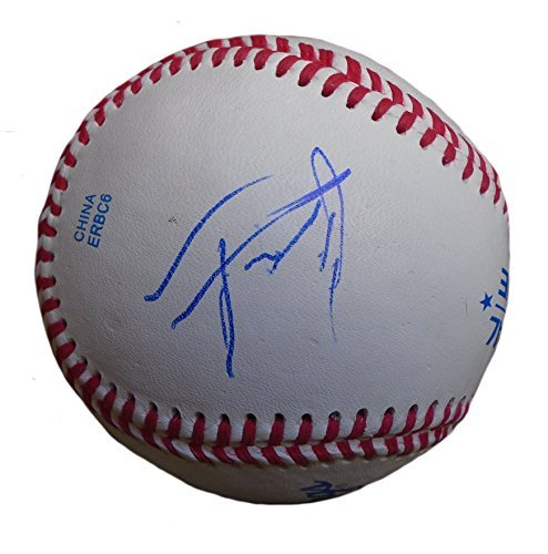 - Seattle Mariners Alex Jackson Autographed Hand Signed Baseball with Proof Photo of Signing and COA