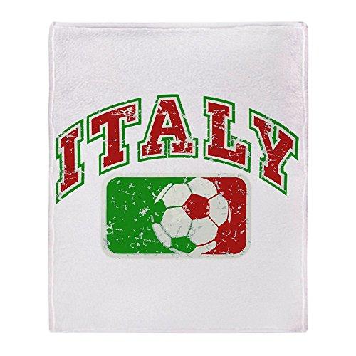 Stadium Throw Blanket Italy Soccer Grunge Italian Flag (Italian Flag Throw compare prices)