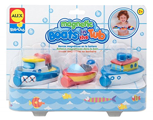 Rub A Dub (ALEX Toys Rub a Dub Magnetic Boats in the)
