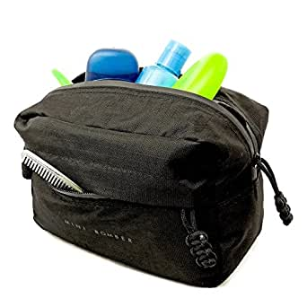 Dopp Kit Hygiene Bag for Men By Bomber & Company - Best Shower Toiletry Travel Case
