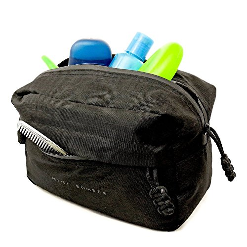 Dopp Kit Hygiene Bag for Men By Bomber & Company - Best Shower Toiletry Travel - Airport List Australia