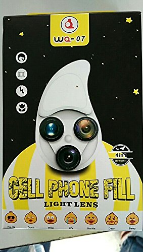 Cell Phone FILL Light LENS ,4 in 1 Camera LENS by LIGHT LENS