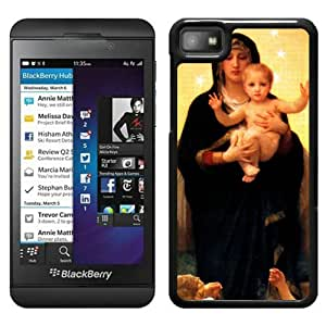Beautiful Designed Cover Case For Blackberry Z10 With Baby Jesus 1 Black Phone Case
