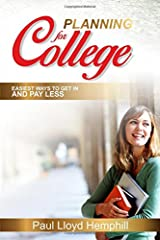 Planning For College Paperback