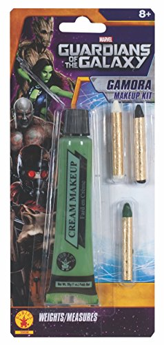 Rubies Guardians of the Galaxy Gamora Costume Make-Up Kit