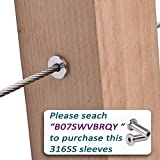 Deck man 1/8 inch T316 Stainless Steel Wire Rope