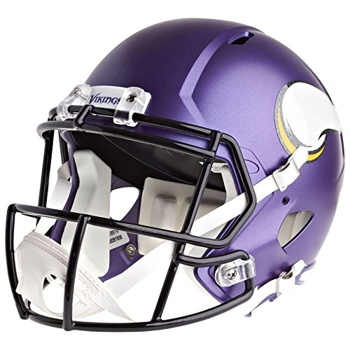 - Riddell Minnesota Vikings Officially Licensed Speed Full Size Replica Football Helmet
