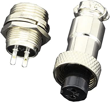 Aviation Plug Kabelbuchse 12mm 2//3//4//5//6//7 Pin Gx12 GQCRH