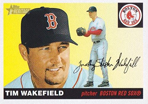 2004 Topps Heritage Baseball #258 Tim Wakefield Boston Red Sox