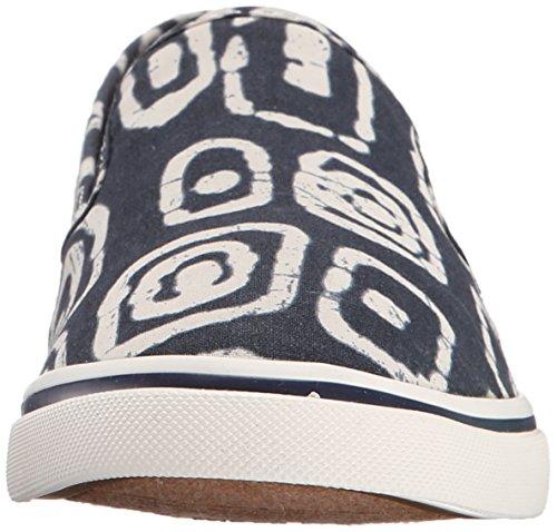 Ralph Sneaker Fashion Batik Janis Women's Modern Lauren Tribal Navy Lauren White SqFAH