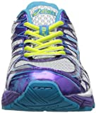 ASICS Gel-Kayano 20 GS Running Shoe,Platinum/Island Blue/Limeade,6.5 M US Big Kid