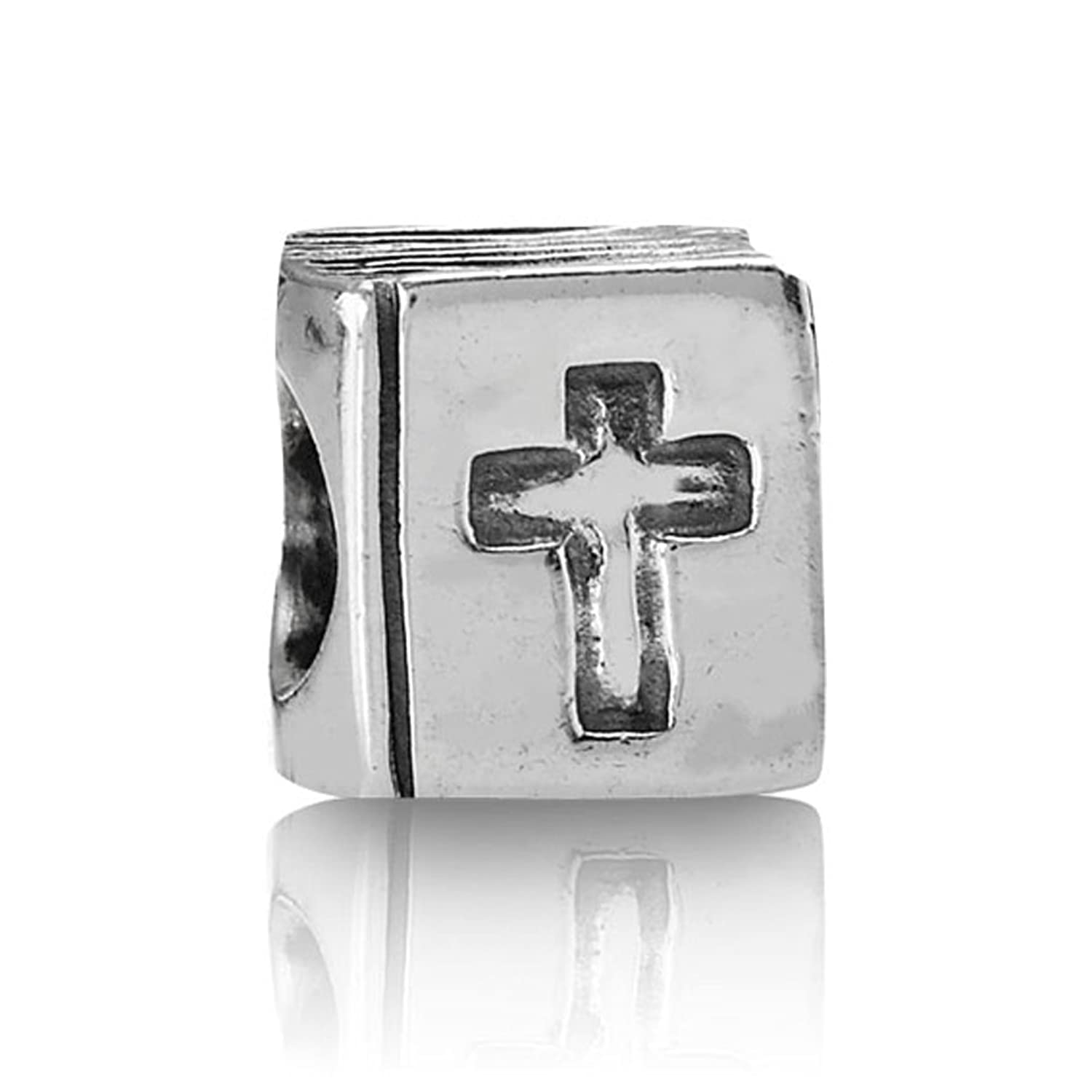Amazon.com: Pandora Bible Charm in 925 Sterling Silver, 790261: Jewelry