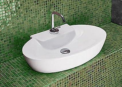 Lavabo lavandino bacinella d appoggio cm art ceram mod
