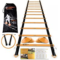 Scandinavian Sports Speed Training Set - Agility Ladder,...