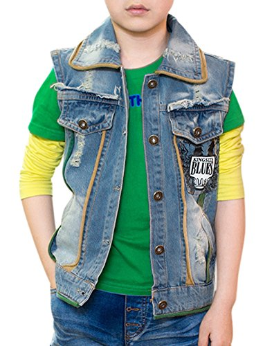 uxcell-boy-letters-phoenix-print-button-down-denim-vest-allegra-kids-blue-14