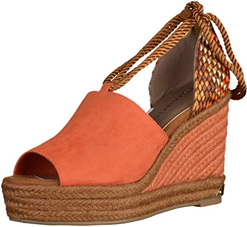 Tamaris Sandale femmes 28 1 Orange 28312 SFSHY
